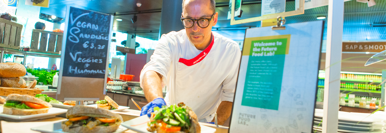 Universiteit Utrecht en Sodexo van start met Future Food Lab